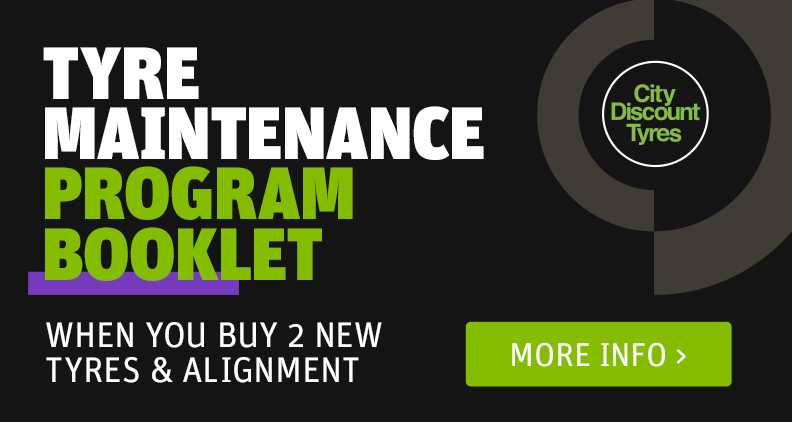 Free Tyre Maintenance book when you buy 2 new tyres and alignment